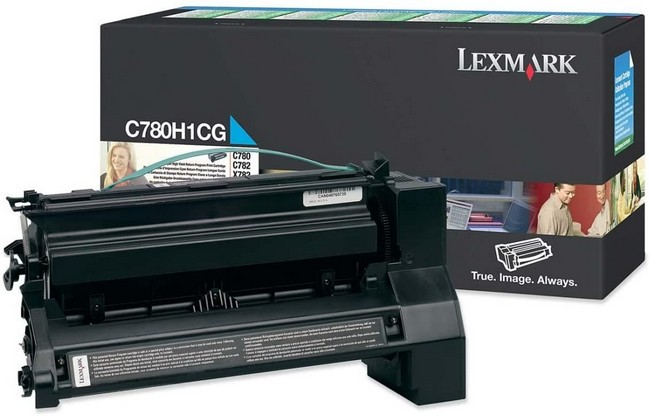 Brand New Original Lexmark C-782 C780H1CG  Cyan High Yield Toner Cartridge C780, C782, X782