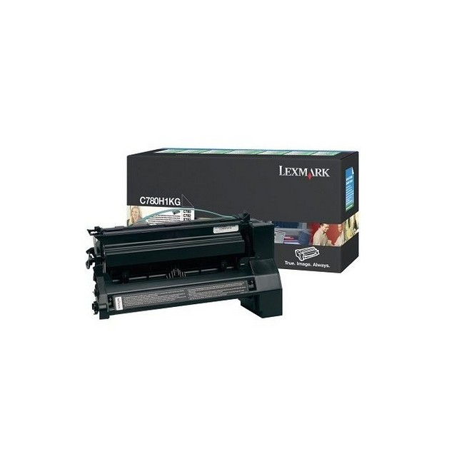 Brand New Original Lexmark C-782 C780H1KG  Black High Yield Toner Cartridge C780, C782, X782