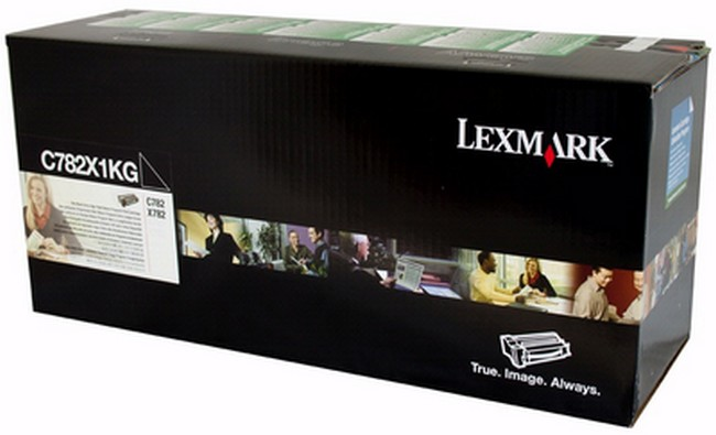Brand New Original Lexmark C-782n C782X1KG  Black Toner Cartridge C782, X782e