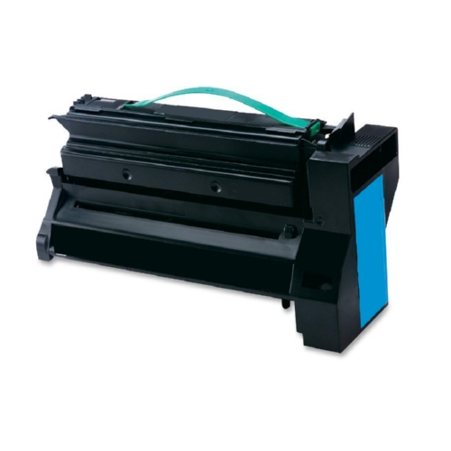 Lexmark C782X2 C782X2CG Cyan Compatible Extra High Yield Print Cartridge C782, X782