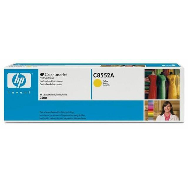 Brand New Original HP 822A C8552A Yellow Laser Toner Cartridge Color LaserJet 9500