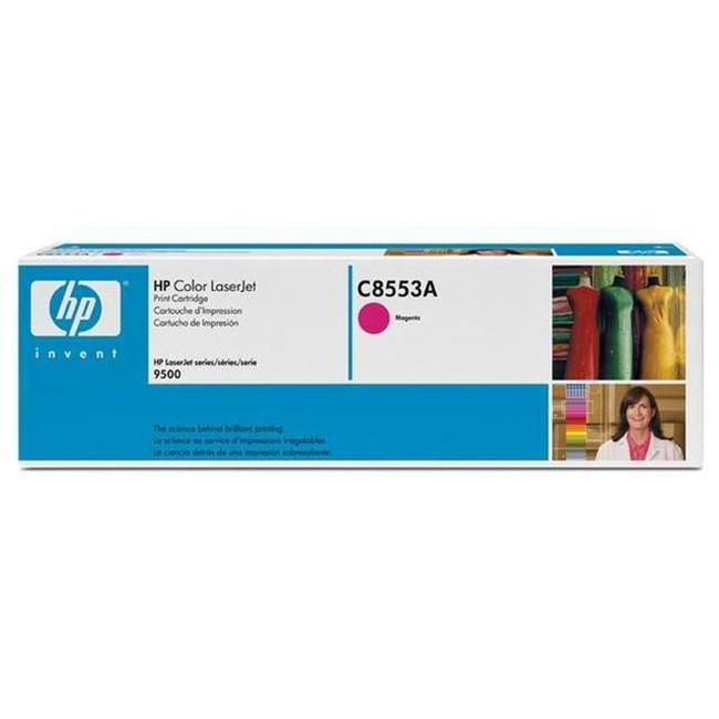 Brand New Original HP 822A C8553A Magenta Laser Toner Cartridge Color LaserJet 9500
