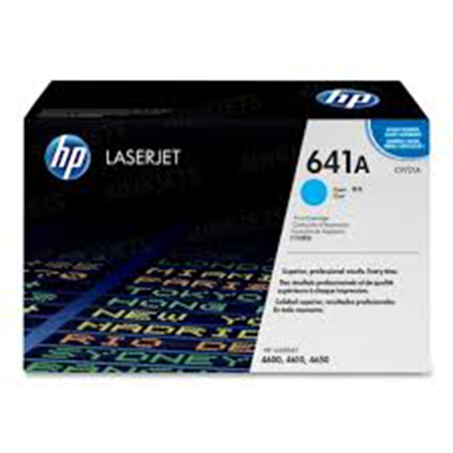 Brand New Original HP 641A C9721A Cyan Laser Toner Cartridge Color LaserJet 4600, 4650