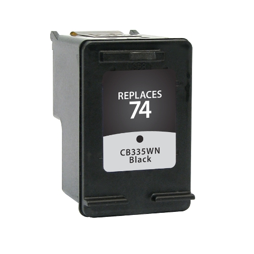 HP 74 CB335WN Black Remanufactured Inkjet Cartridge