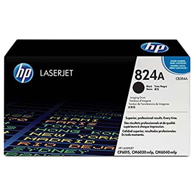 Brand New Original HP 824A CB384A Black Laser Drum Unit Color LaserJet CM6030, CM6040, CP6015