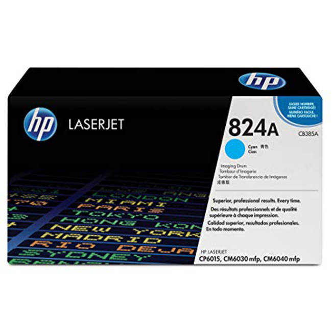 Brand New Original HP 824A CB385A Cyan Laser Drum Unit Color LaserJet CM6030, CM6040, CP6015
