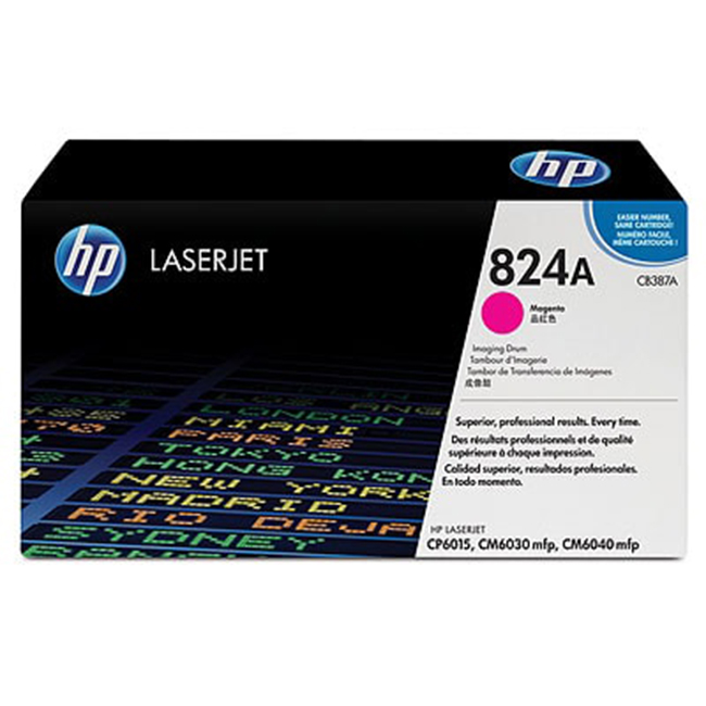 Brand New Original HP 824A CB387A Magenta Laser Drum Unit Color LaserJet CM6030, CM6040, CP6015
