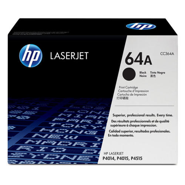 Brand New Original HP 64A CC364A Black Laser Toner Cartridge LaserJet P4014