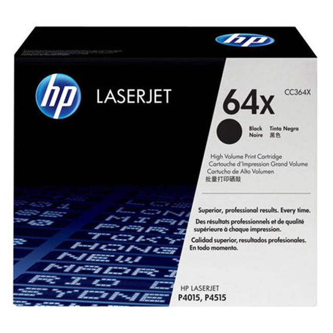 Brand New Original HP 64X CC364X Black High Yield Laser Toner Cartridge LaserJet P4015dn