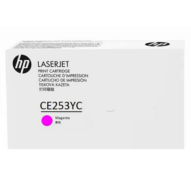 Brand New Original HP 504A CE253YC Magenta Optimized Contract Toner Cartridge Color LaserJet CM3530, CP3525, CP3530