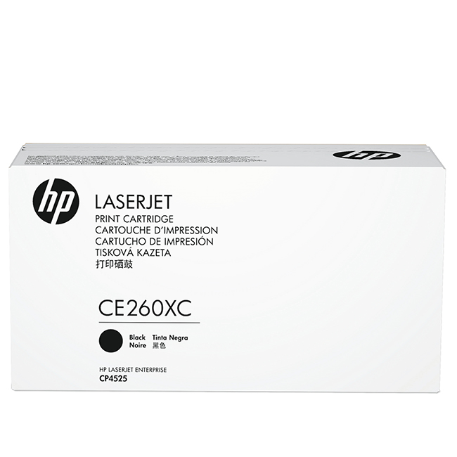 Brand New Original HP 649X CE260XC Contract Black High Yield Toner Cartridge Color LaserJet CP4525