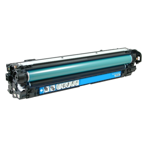 HP 651A CE341A Cyan Laser Toner Cartridge LaserJet Enterprise 700 Color MFP M775, M775Z Plus