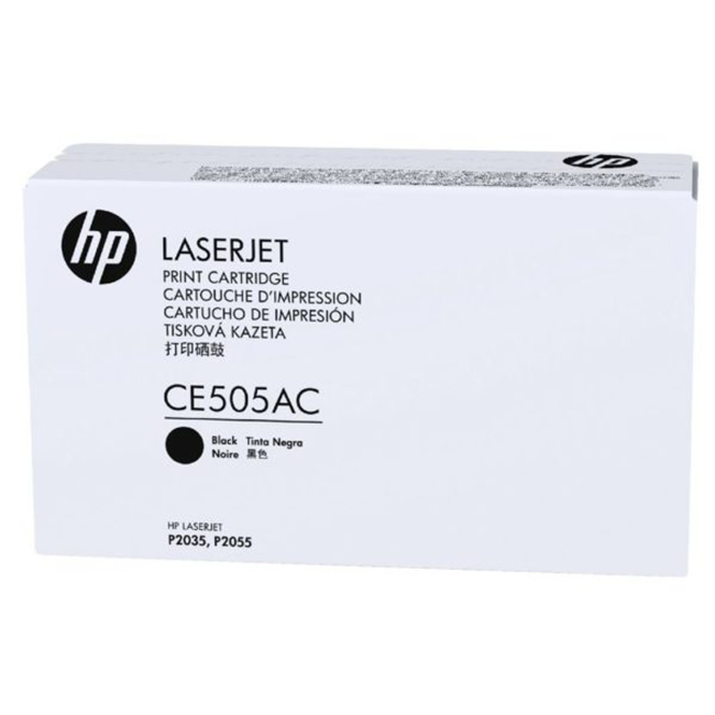 Brand New Original HP CE505AC Black Contract Toner Cartridge LaserJet P2035