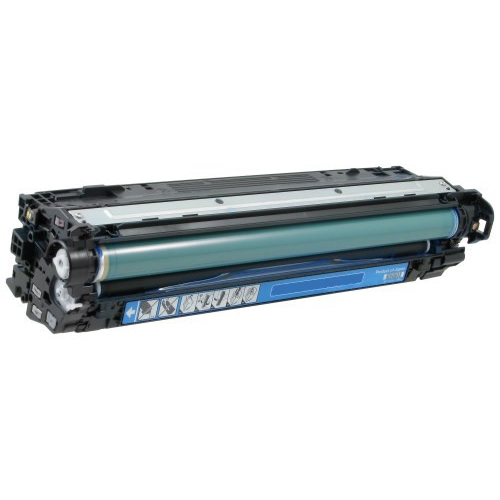 HP 307A CE741A Cyan Laser Toner Cartridge Color LaserJet Professional CP5225, CP5225dn, CP5225n