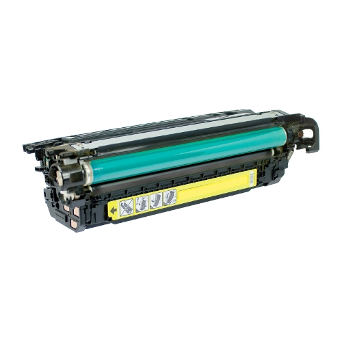 HP 646A CF032A Yellow Laser Toner Cartridge Color LaserJet Enterprise CM4540, CM4540f, CM4540fskm MFP