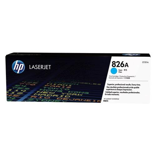 Brand New Original HP 826A CF311A Cyan Toner Cartridge Color LaserJet Enterprise M855