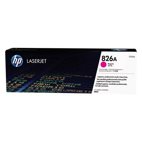 Brand New Original HP 826A CF313A Magenta Toner Cartridge Color LaserJet Enterprise M855