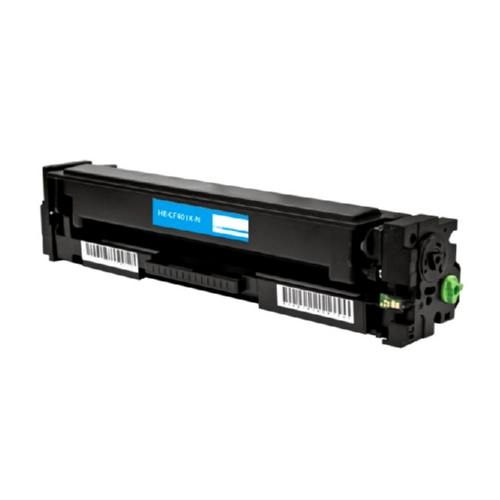 HP 201X CF401X Cyan Compatible High Yield Toner Cartridge Color LaserJet Pro M252, MFP M277