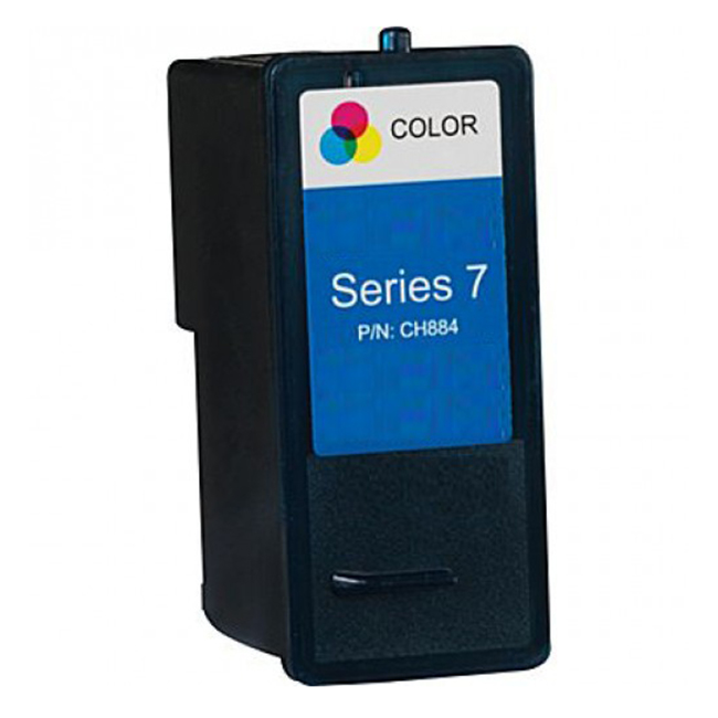 Dell Series 7 CH884 310-8374 Tri-Color Compatible High Yield Ink Cartridge All-In-One 966 968 968w