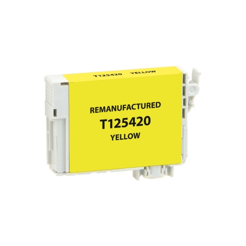 Epson T125 T125420 Yellow Inkjet Cartridge