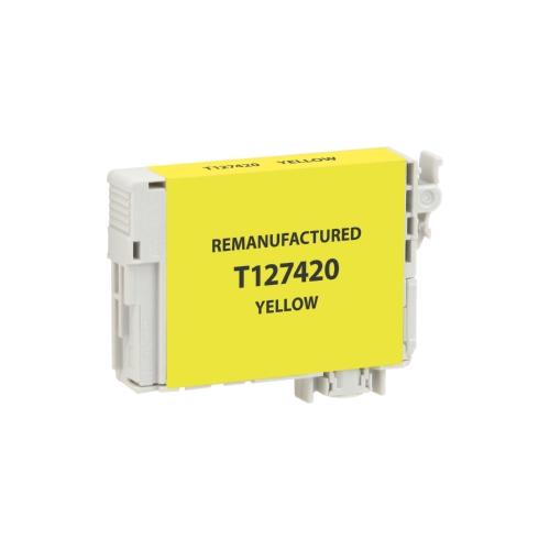 Epson T127 T127420 Yellow High Yield Inkjet Cartridge