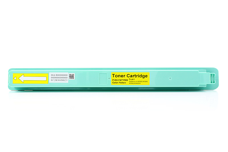 Panasonic KX-FATY508 Yellow Laser Toner Cartridge KX-MC6020, MC6040, MC6260