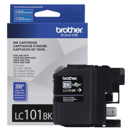 Brand New Original Brother LC101 LC-101BK Black Ink Cartridge