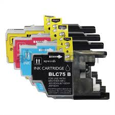 LC75/71 LC-75 LC-71 Combo set of 4 colors Inkjet Cartridge
