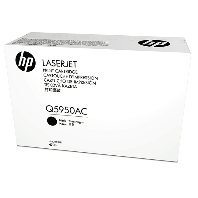 Brand New Original HP 643A Q5950AC Black Contract Toner Cartridge LaserJet 4700, 4700PH Plus