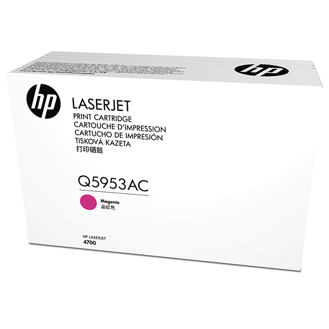 Brand New Original HP 643A Q5953AC Magenta Contract Toner Cartridge LaserJet 4700, 4700PH Plus