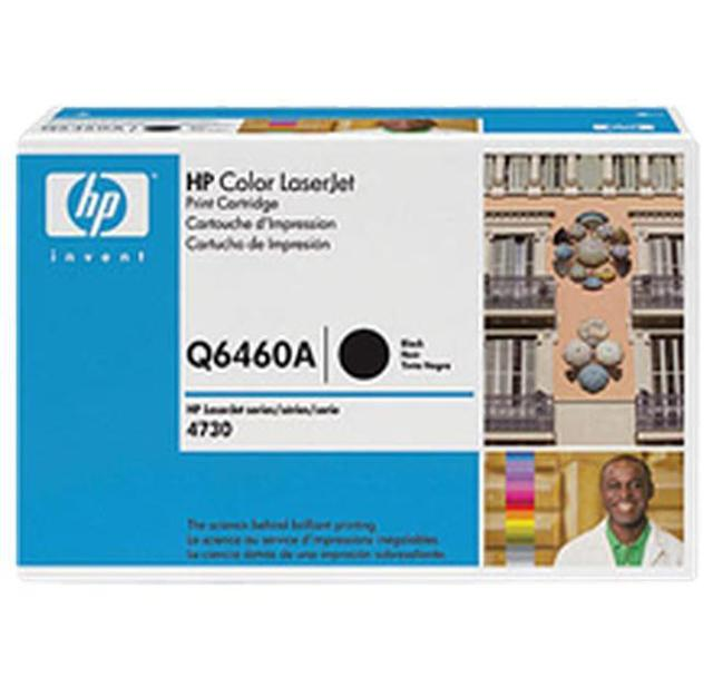 Brand New Original HP 644A Q6460A Black Toner Cartridge Color LaserJet 4730 MFP, CM4730 MFP