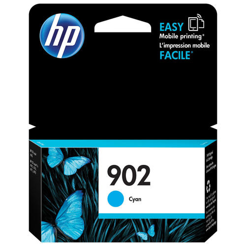 Brand New Original HP 902 T6L86AN T-6L86AN Cyan Ink Cartridge