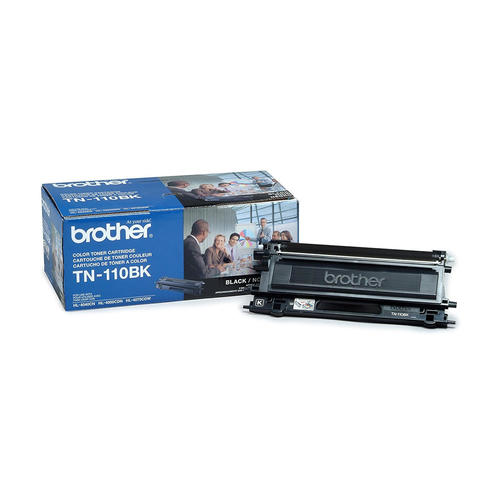 Brand New Original Brother TN110 TN-110BK Black Laser Toner Cartridge DCP-9040