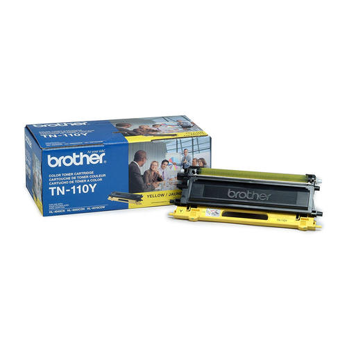 Brand New Original Brother TN110 TN-110Y Yellow Laser Toner Cartridge DCP-9040