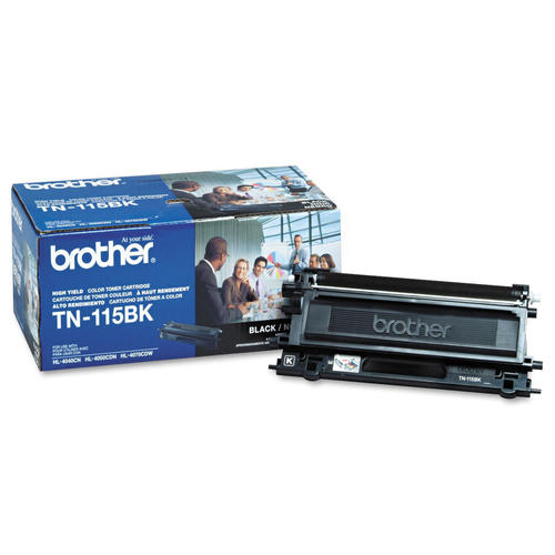 Brand New Original Brother TN115 TN-115BK Black Laser Toner Cartridge DCP-9040