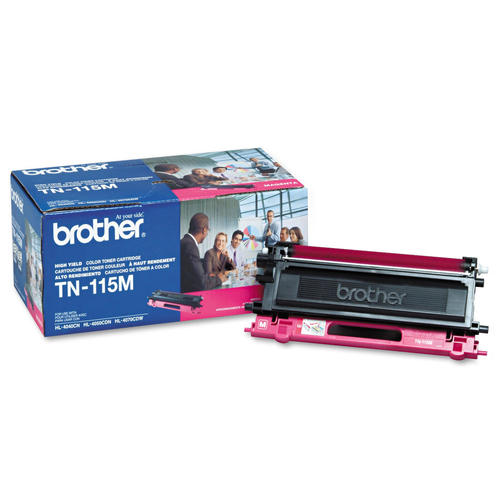 Brand New Original Brother TN115 TN-115M Magenta Laser Toner Cartridge DCP-9040