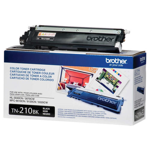 Brand New Original Brother TN210 TN-210BK Black Laser Toner Cartridge