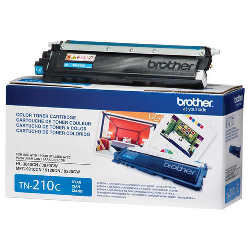 Brand New Original Brother TN210 TN-210C Cyan Laser Toner Cartridge