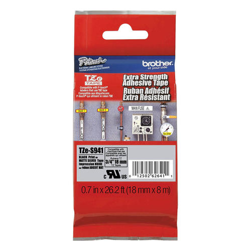 Brother TZe-S941 Original Extra Strength Adhesive Tape, 18mm (0.7