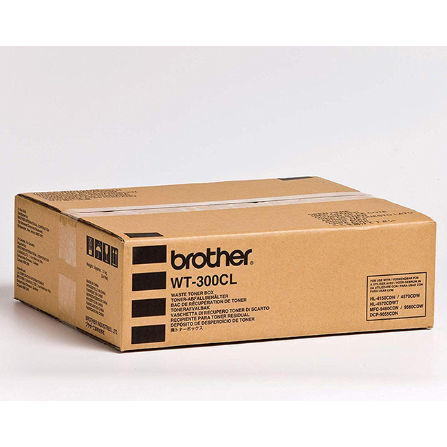 Brand New Original Brother WT300CL WT-300CL Black Waste Toner Box DCP-9055CDN