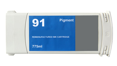HP 91 C9466A Light Grey Pigment Remanufactured Inkjet Cartridge DesignJet Z6100, DesignJet Z6100PS