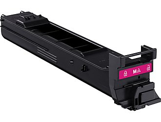 Konica Minolta A0DK332 Magenta High Yield Laser Toner Cartridge MagiColor  4650, 4690, 4695