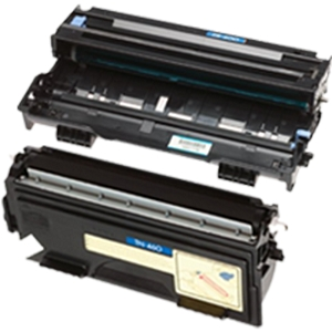 2 Pack Brother TN460 DR400 Laser Toner Cartridge and Drum Unit