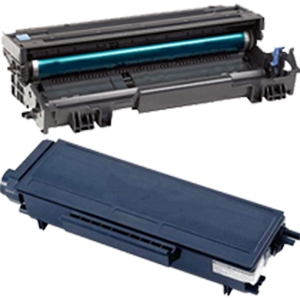 2 Pack Brother TN580 DR520 Laser Toner Cartridge and Drum Unit