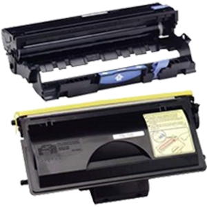 2 Pack Brother TN700 & DR700 HL-7050 HL-7050DN HL-7050N Toner Cartridge	& Drum Unit