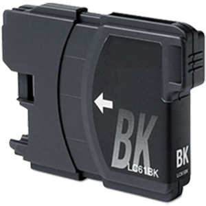 Brother LC61 LC61BK LC-61BK Black Inkjet Cartridge DCP Series and MFC Series