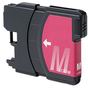 Brother LC61 LC61M LC-61M Magenta Inkjet Cartridge DCP Series and MFC Series