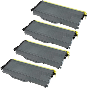 4 Pack Brother TN360 TN-360 TN 360 Black High Yield Laser Toner Cartridge
