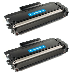 2 Pack Brother TN450 TN-450 Black High Yield Laser Toner Cartridge