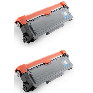 2 Pack Brother TN660 TN-660 Black Laser Toner Cartridge